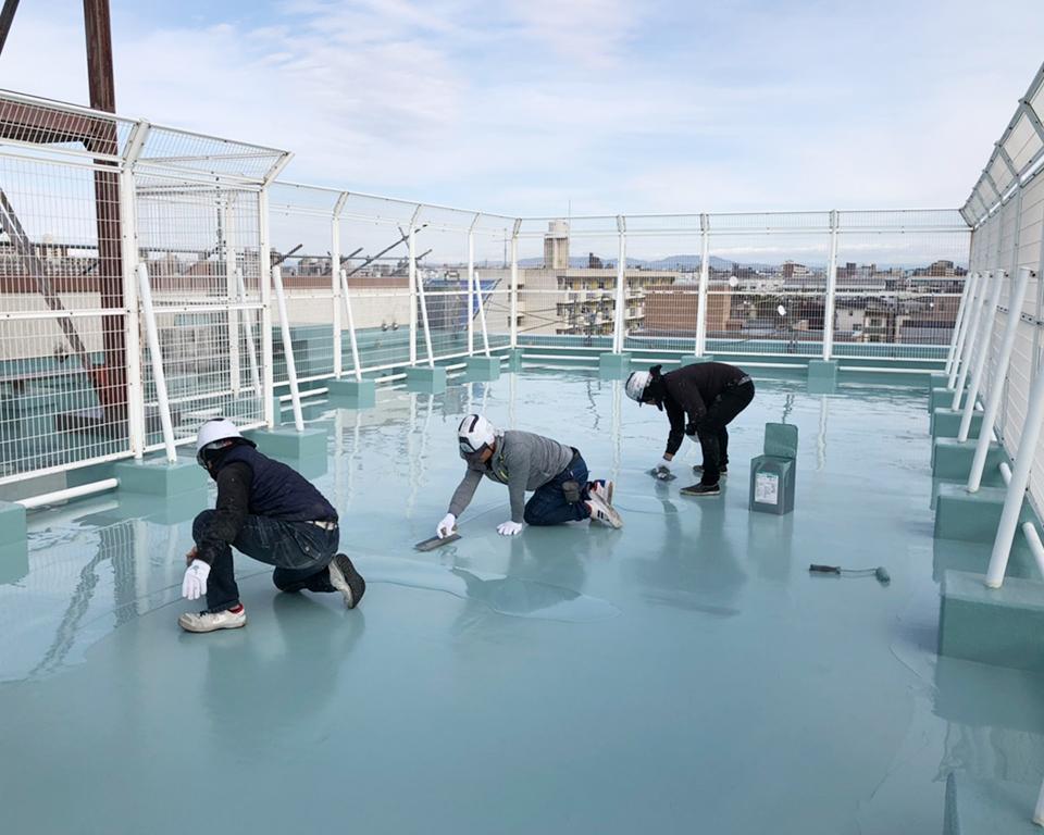 岐阜・名古屋の防水工事はお任せください!!当社スタッフによる直接施工でご対応致します。